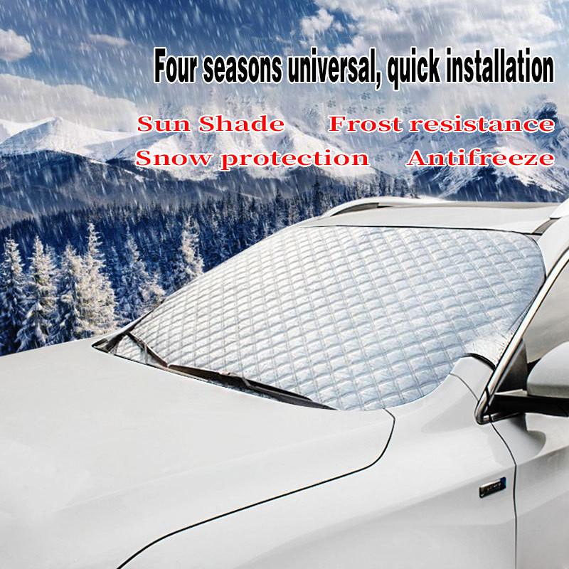Coche Anti Helada Nieve Hielo Parabrisas Funda Protector Para Toyota Auris