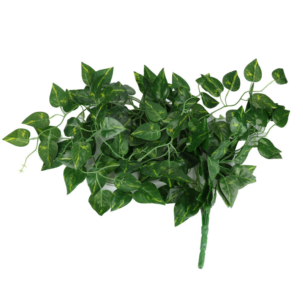 Fake Hanging Vine Plant Leaves Garland Home Garden Wall Decoration Artificial Flowers For Wedding Supplies #xtn C19041702