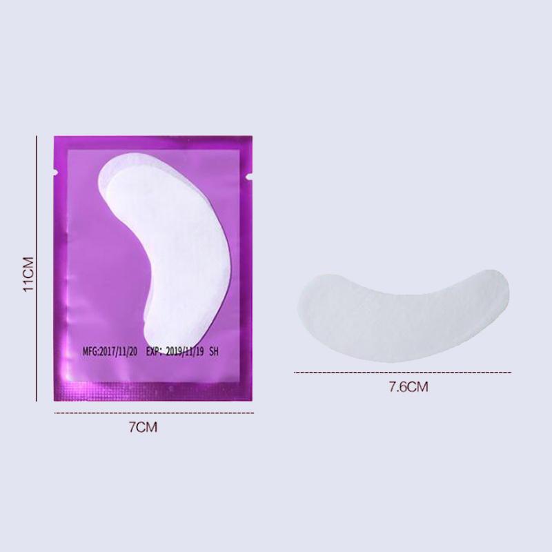 Eyelash Extension Paper Patches Lint Free Eye Gel Patches Eyelash Under Eye Pads Eye Tips Sticker Wraps Make Up Tools