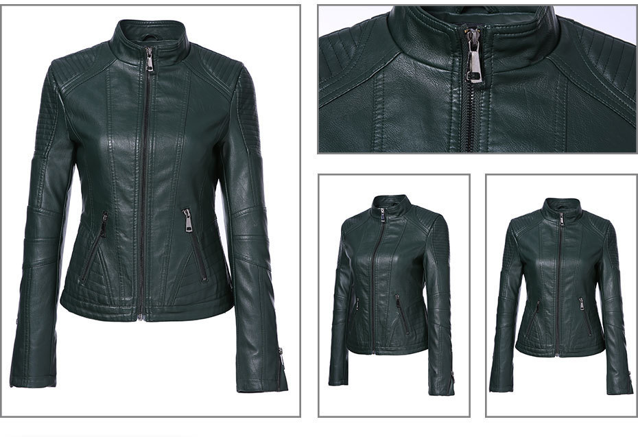 Faux Leather Jacket (3)