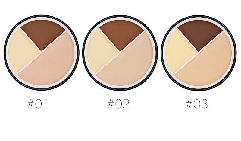 SACE LADY Full Cover 5 Colors Liquid Concealer Makeup 6ml Eye Dark Circles Waterproof