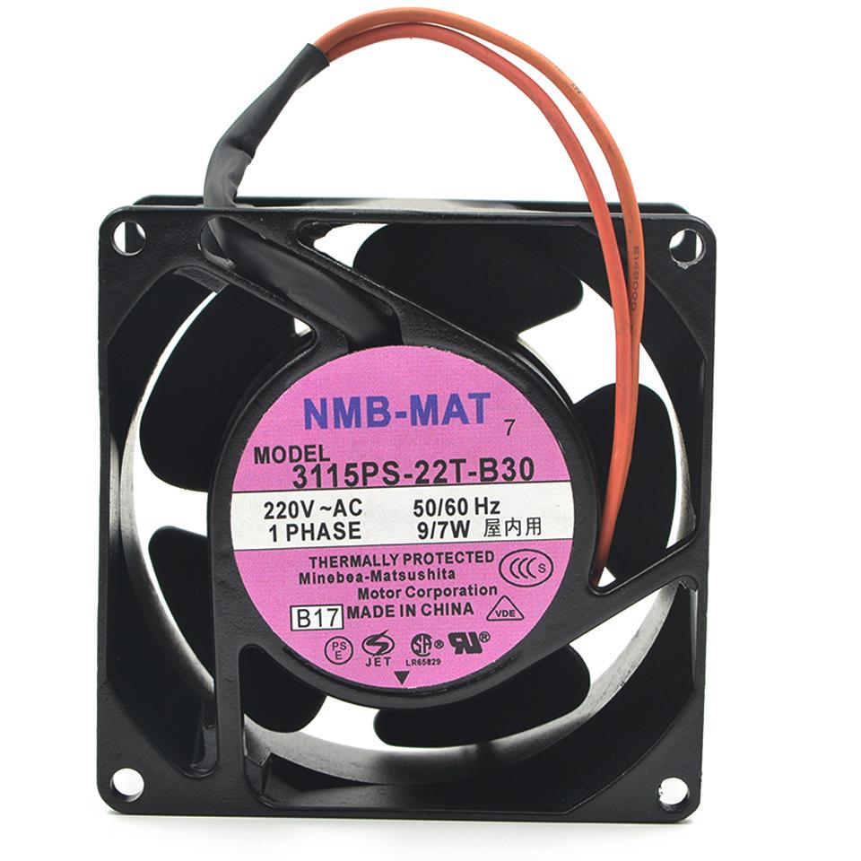 13W 12038 aluminum frame cooling fan original NMB-MAT 4715MS-12T-B40 115V 15