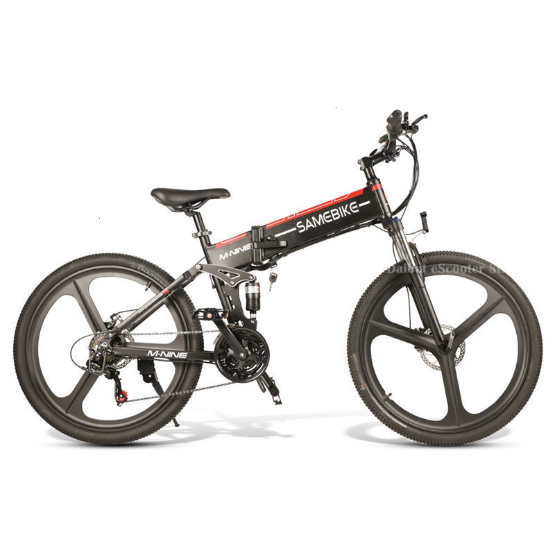 Powerful Electric Bicycle 2 Wheels Electric Bicycles 21 Speed 35KMH 48V 350W Folding Electric Scooter With Removable Battery (13)