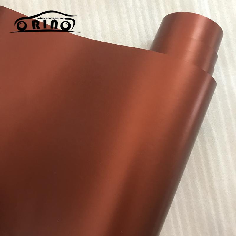 Metallic Chrome Coffee Vinyl Film Wrap-1
