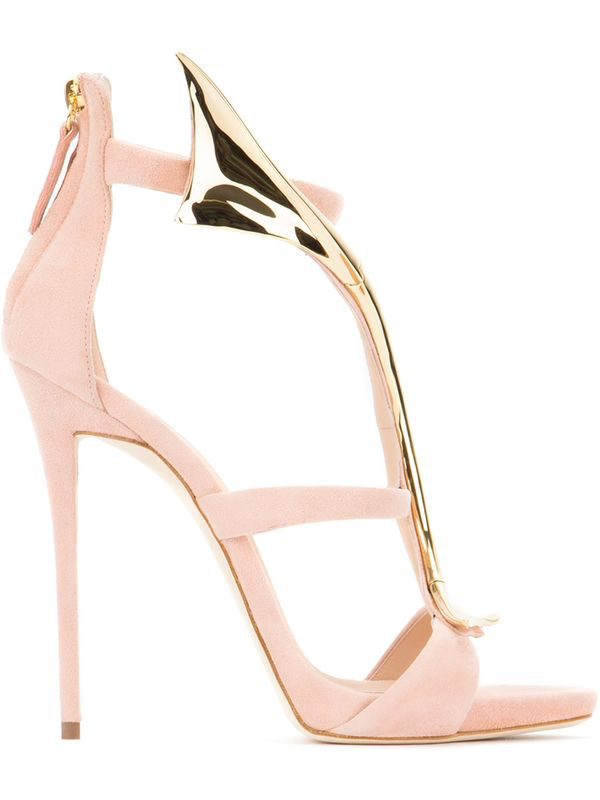 Woman-Snake-Design-Sandals-Metallic-Gold-High-Heel-Sandals-Red-Black-Suede-Open-Toe-Cut-out (1)