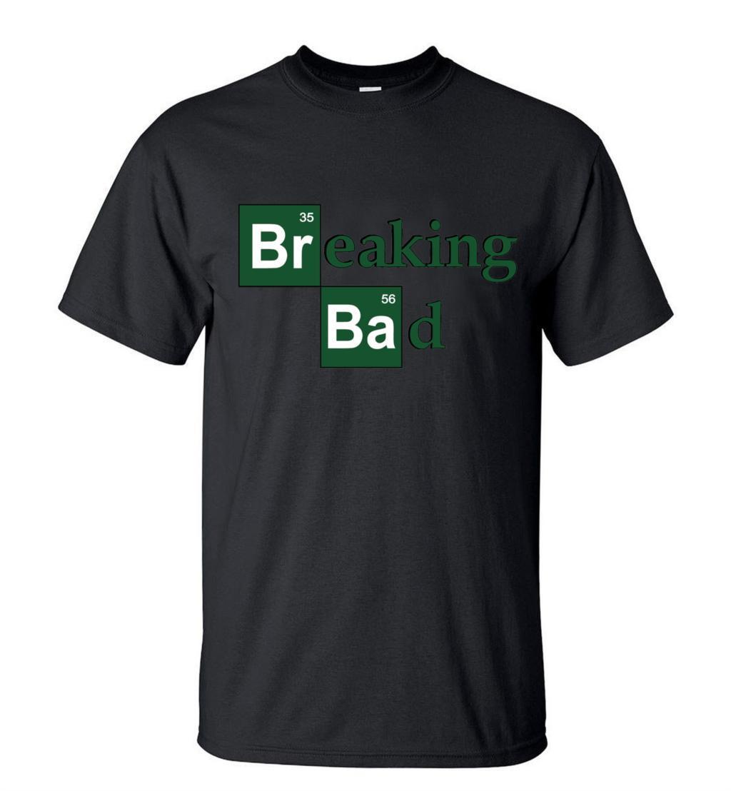 HotSale Breaking Bad HeisenbergMen TShirts 2019Summer Fashion Casual 100% Cotton T-ShirtStreetwearSlim Fit Top TeesS-3XL