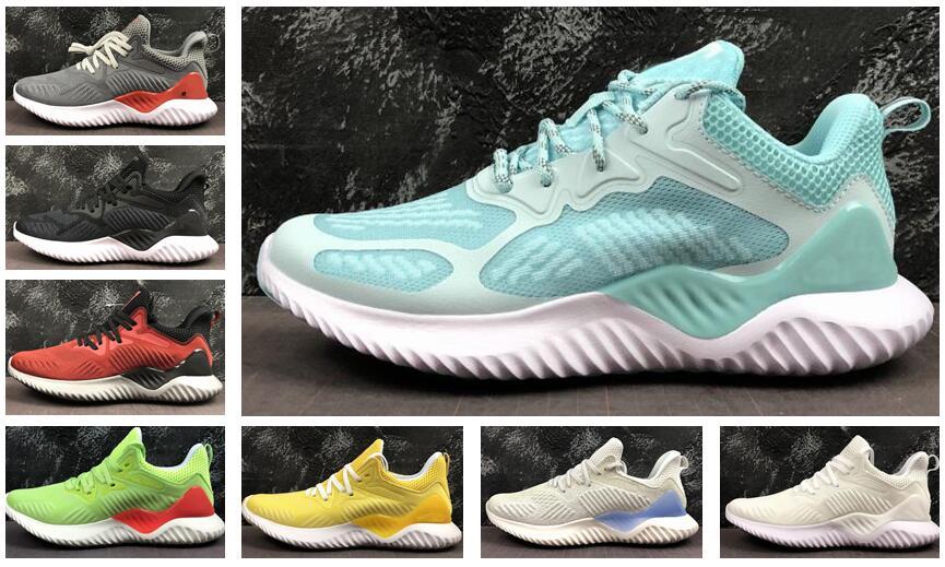 Haut créateur de mode luxe Beyond 330 Chaussures de course Marque Kolor Alphabounce Alpha bounce Run Femmes Chaussures de Sport Trainer Sneakers