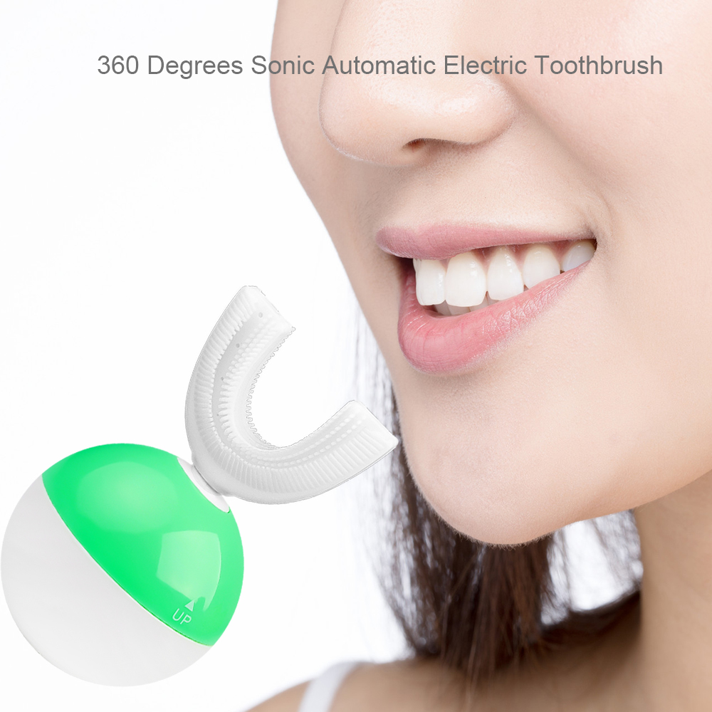360℃ Intelligent Automatic Electric Toothbrush USB Charging Tooth Whitening S3E4