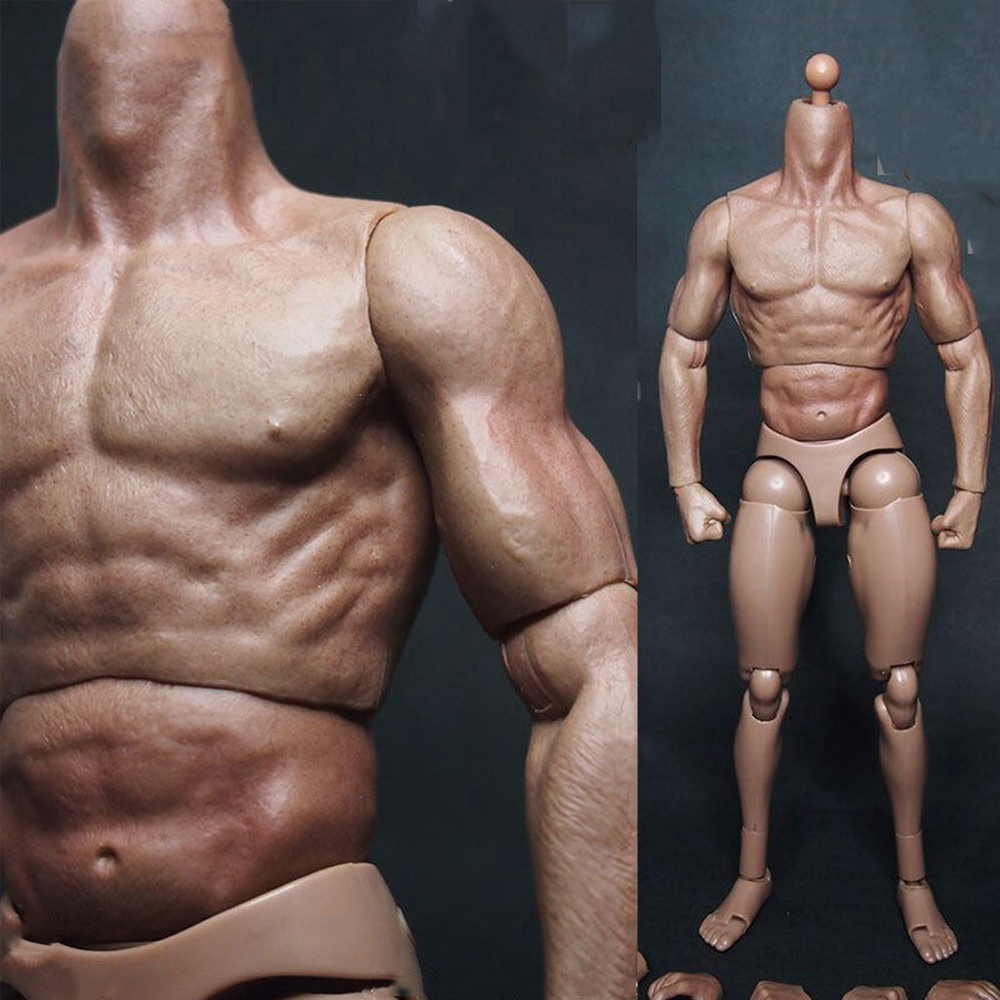 Figma Male Action Figure Muscular Man Body Youth 2.0 Type Movable Body Model US