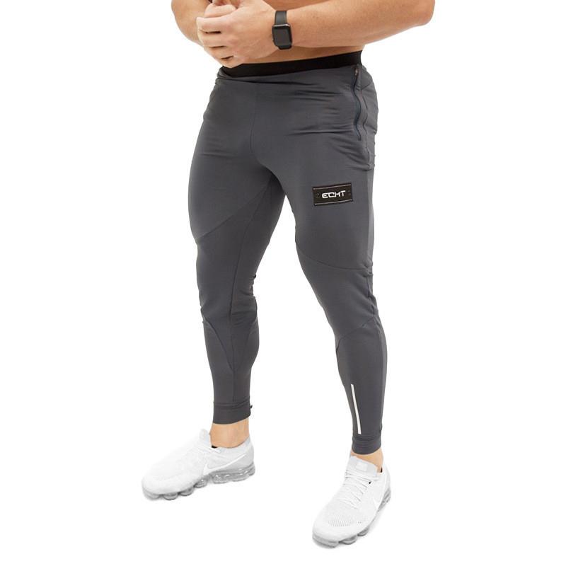 Tight Men Pants Fitness Gym Sweatpants (17)