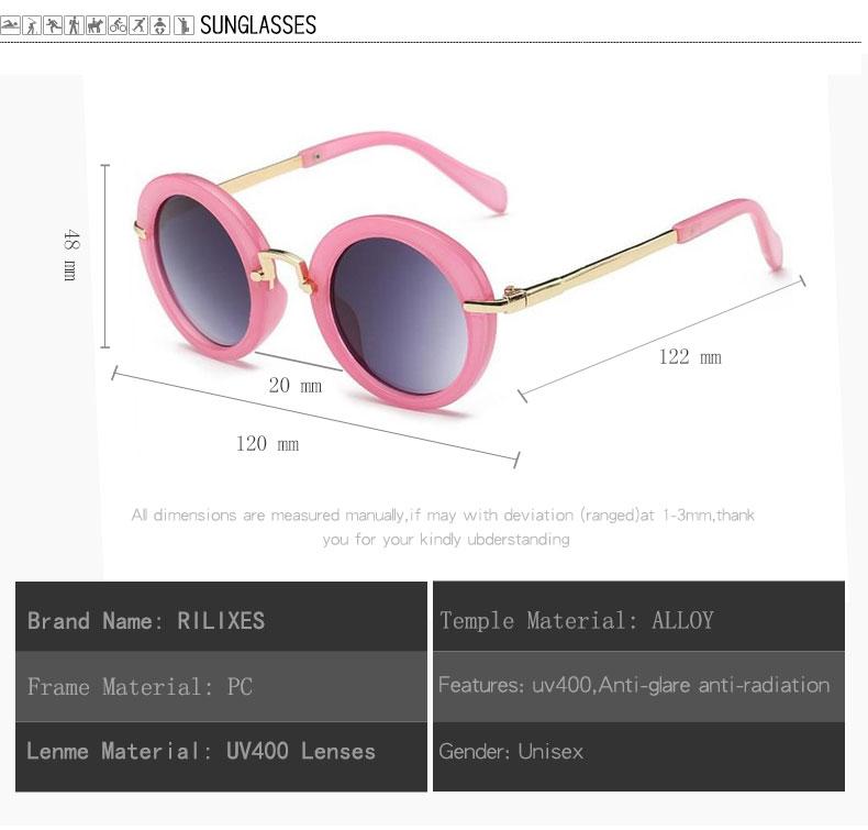 NEW Baby Girls Sunglasses Brand Designer UV400 Protection Lens Children Sun Glasses Cute Kids Sunglasses Cool Goggles (12)