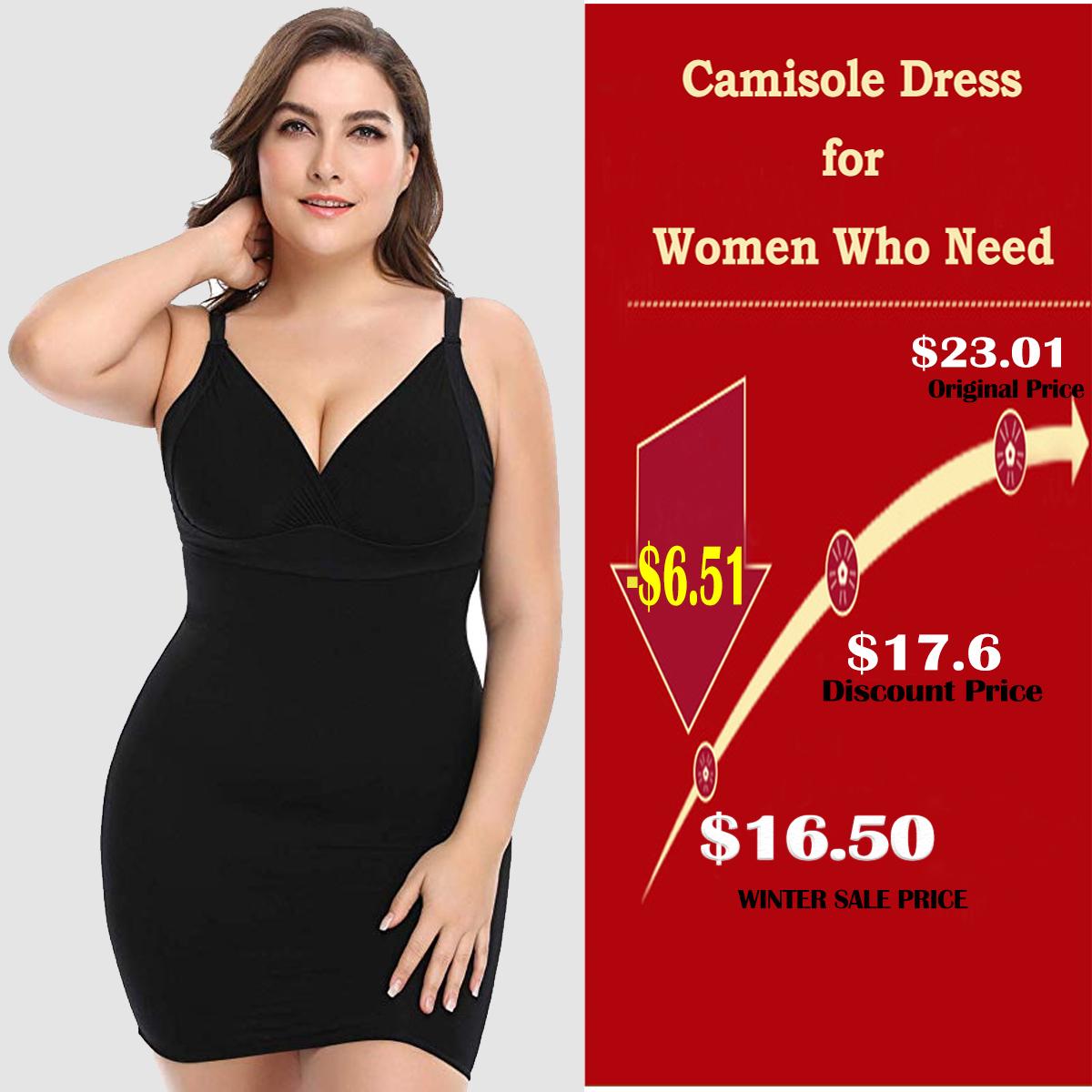 Women Body Shaper Tummy Control Shaping Underwear Full Bodysuit Shapewear Dress