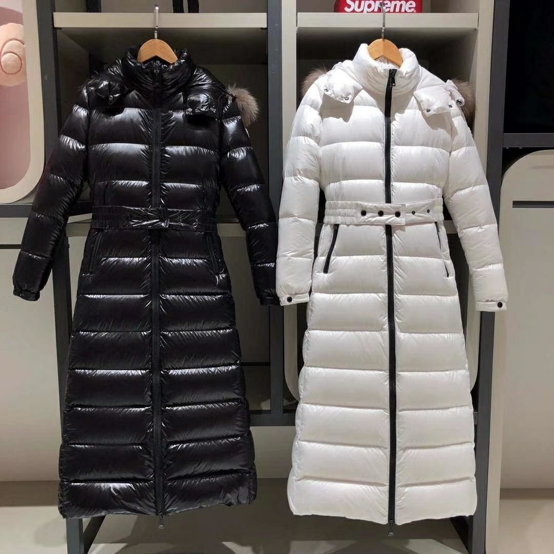 Down winter coats Womens jacket trend fashion Brand Windproof warm long coat Fur Collar high quality slim fit Outerwear Coats 59