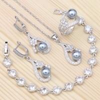 Flowers-White-Crystal-Gray-Imitation-Pearls-925-Sterling-Silver-Jewelry-Set-For-Women-Bracelet-Earrings-Ring.jpg_200x200
