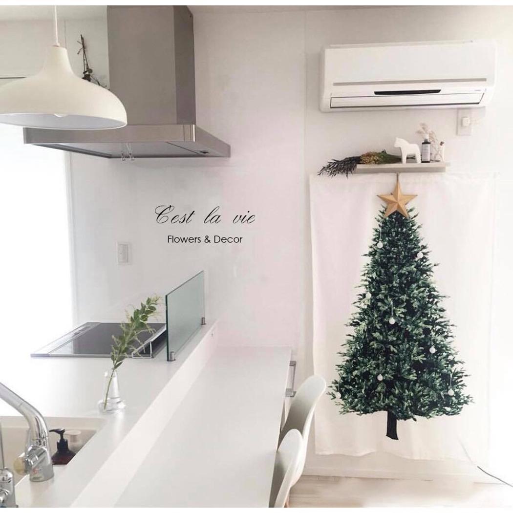 Nueva moda árbol de navidad tapiz de pared arte de pared mantel telón de fondo decoración del hogar nuevo telón de fondo tapiz