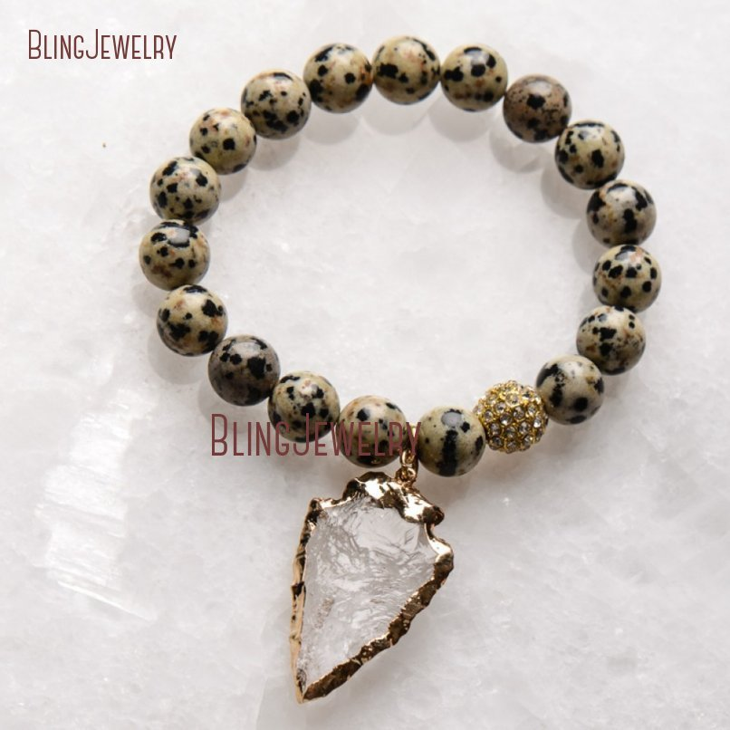 20181201-BM17426-Latest Arrowhead Clear Crystal Bracelet On Sale_35