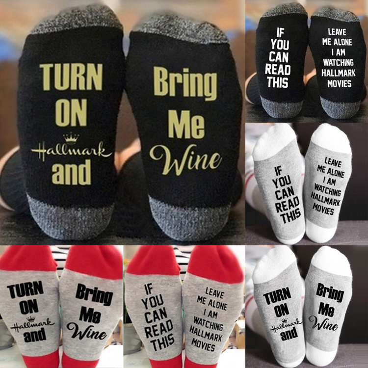 Alphabet Letters Pattern Compression Socks For Women 3D Print Knee High Boot