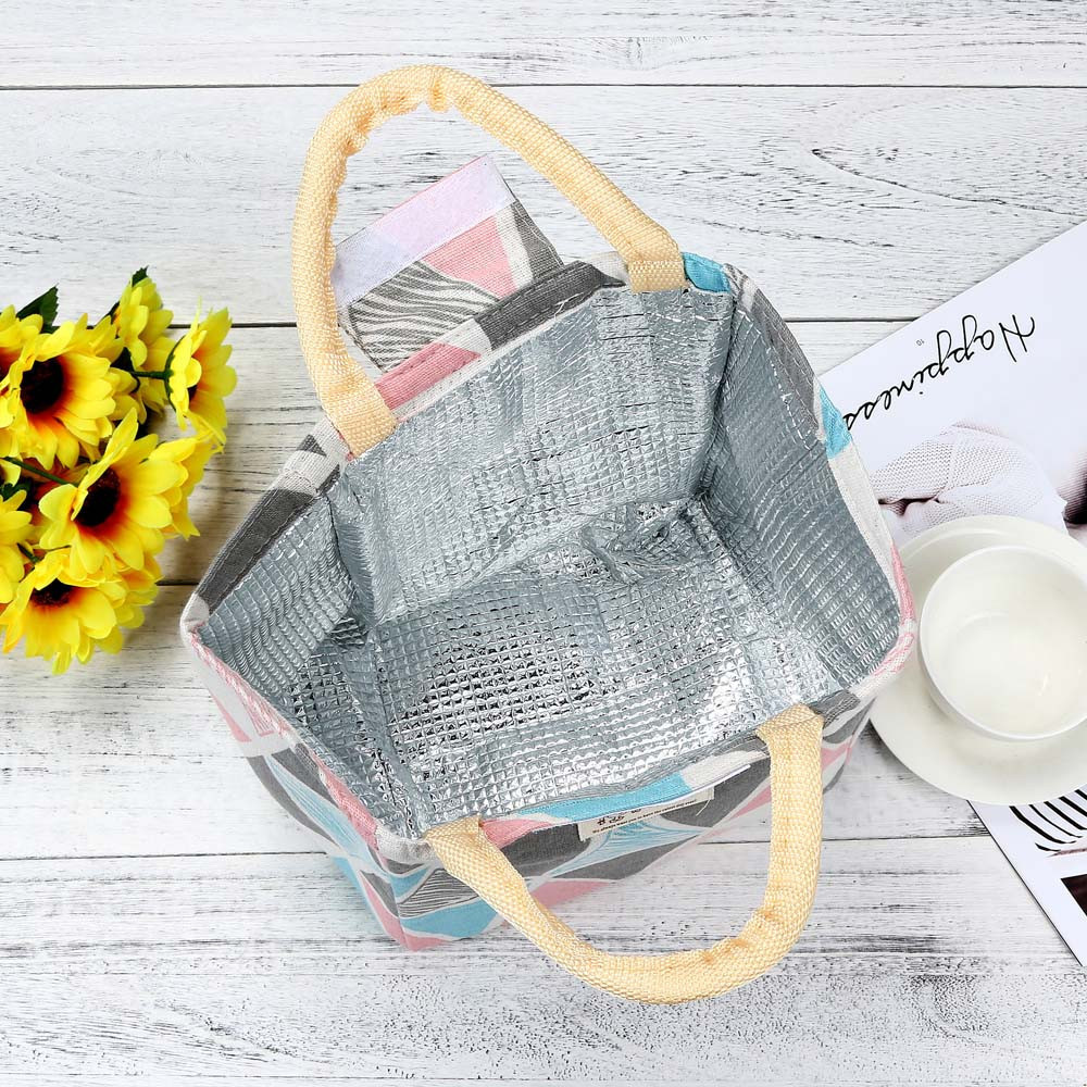 Thermal Insulated Box Cooler Bag Bento Pouch Lunch Storage Case Picnic Tote High Quality Bolsa Termica #yl5 C19021301