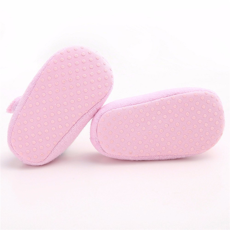 Baby Girls Shoes Fashion Newborn Infant Baby Girls Flower Pearl Soft Sole Anti-slip Princess Shoes Baby First Walker JE25#F (16)