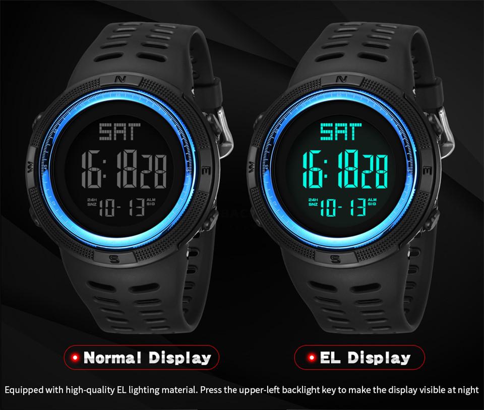 Sports Watch Men Digital Electronic Wrist Watch Waterproof LED Fitness Outdoor Watch For Running Chronograph Wristwatch Relojes (11)