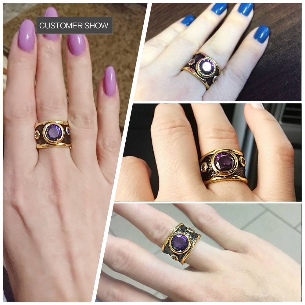 purple stone rings 11