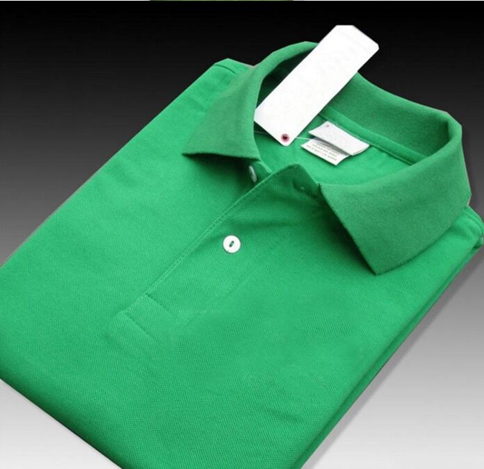 New Brand 2019 Big small Horse crocodile embroidery Polo Shirt Men Short Sleeve Casual Shirts Man's Solid Polo Shirt Camisa Polo