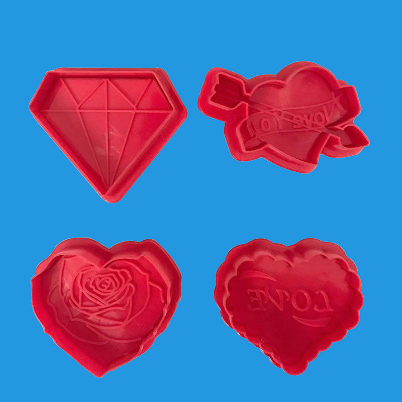 love cake decorating ideas.htm 2020 valentine s day love couple rose diamond cookie cutter cake  rose diamond cookie cutter cake