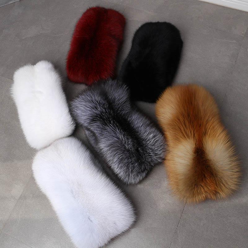 fox fur scarf luxury big 1