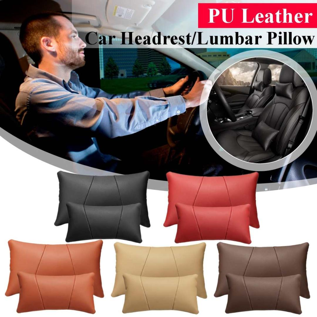 ,Beige Car Seat Lumbar Support Cushion Office Chair for Car Home 1PCS, Wood Beads Breathable Massage Comfort Relieve Back Sciatica and Tailbone Pain
