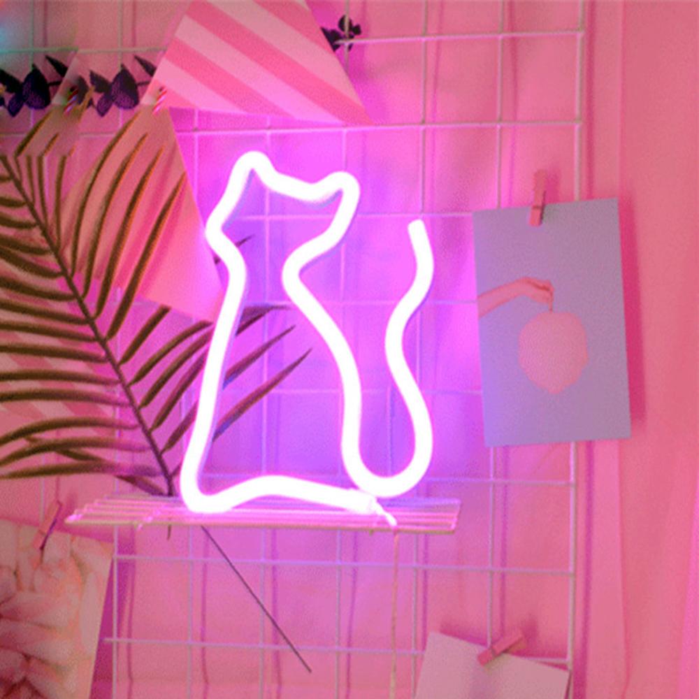 Pendant Cat Pink