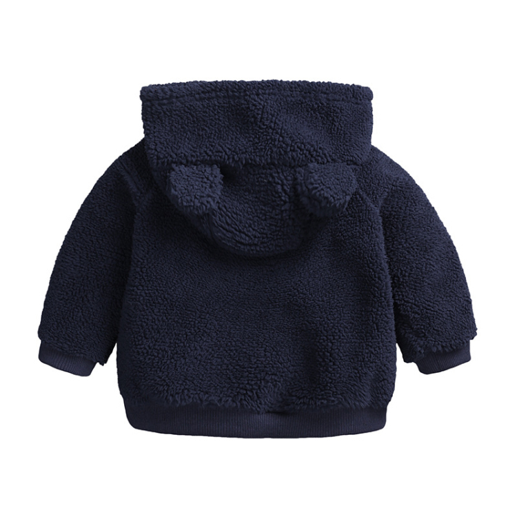 Black baby hooded cartoon cotton outfits long sleeve (2)