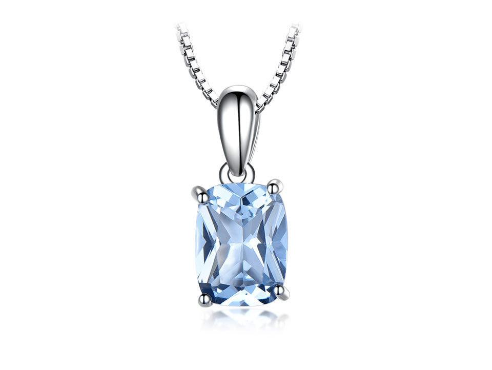 UMCHO Sky blue topaz silver sterling jewelry sets for women EUJ054B-1-pc (2)