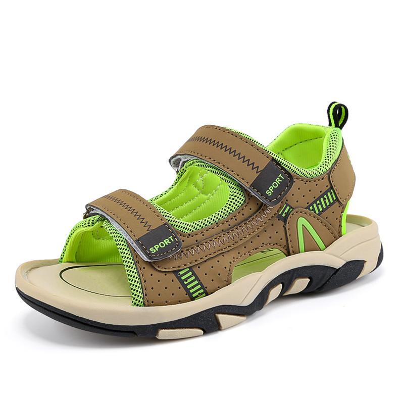 2020 Summer Boys Sandals Kid Sandals Children Shoes Cut-outs Rubber School Shoes Breathable Open Toe Casual Boy Sandal (10)