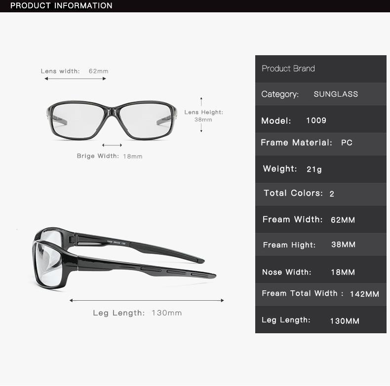 Hd Polarize Fotokromik Güneş Gözlüğü Erkekler Sürüş Bukalemun Gözlük Erkek Gündüz Ve Gece Görüş Sürücü Gözlük Lentes Sol Hombre
