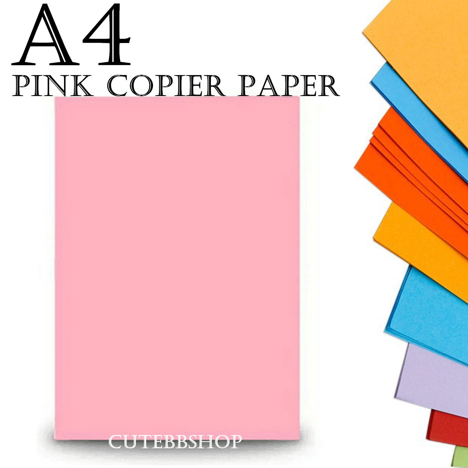 Rojo A4 artes y artesanía Hojas 80gsm Impresora láser papel Inyección De Tinta Y Copiadora