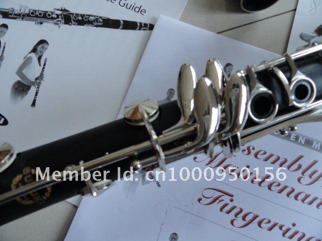 Di alta Qualità Nuovo Arrivo Suzuki 17 tasti Bb Clarinetto Bachelite Nichelato B Piatto Clarinetto Strumenti Musicali Con Custodia Spedizione Gratuita