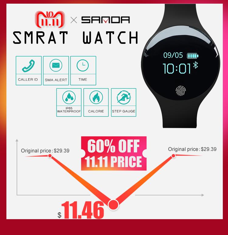 f761819c6770 Bluetooth Smart Watch Niños Niños Pulsera Pulsera impermeable Banda Digital  LED Reloj deportivo Reloj de pulsera para niños Reloj inteligenteUSD  8.96 trozo