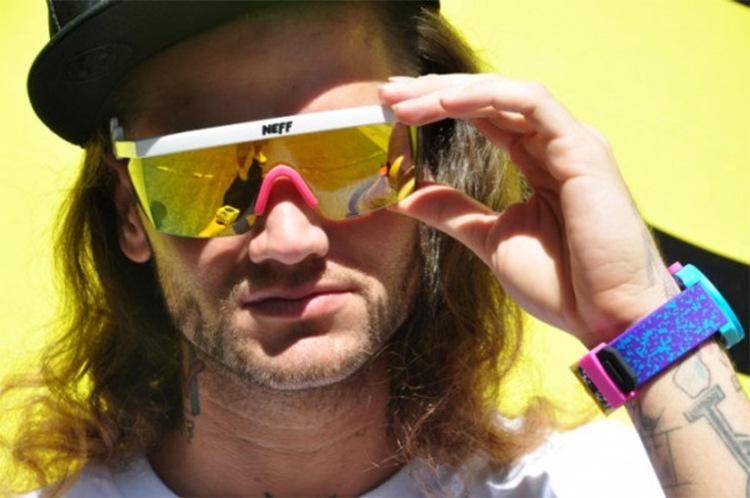 New Fashion Neff Sunglasses MenWomen Brand Designer Glasses Oculos De Sol Sport Street 2 Lens Gafas De Sol De Las Feminino (3)