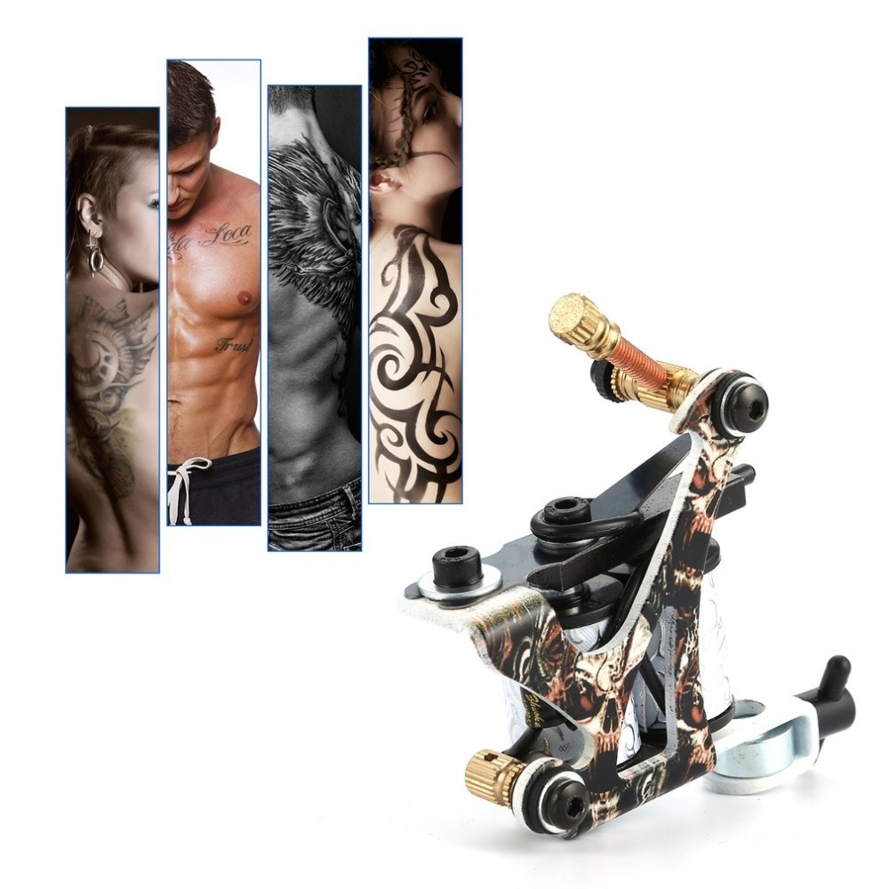 Rotary Tattoo Machine Shader Liner Assorted Tatoo Motor Gun Kits Supply Needle Grips Tips Accessories Body Beauty Artists Tools