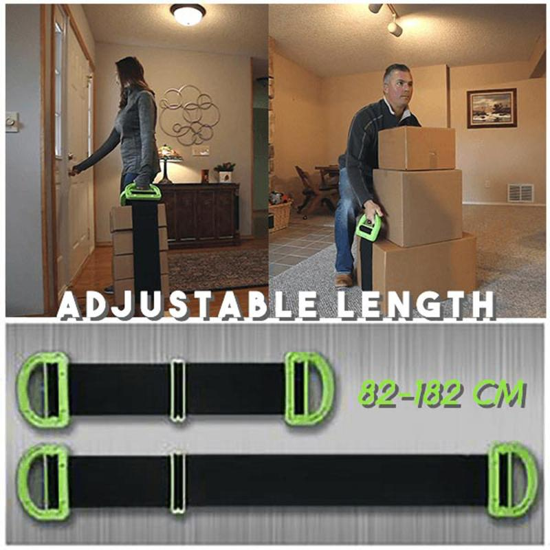 Mattress,Construction Boxes 2 Pack Lifting and Moving Strap,Carrying Straps with The Durable Handles Suport 600Lbs Heavy Object for Furniture
