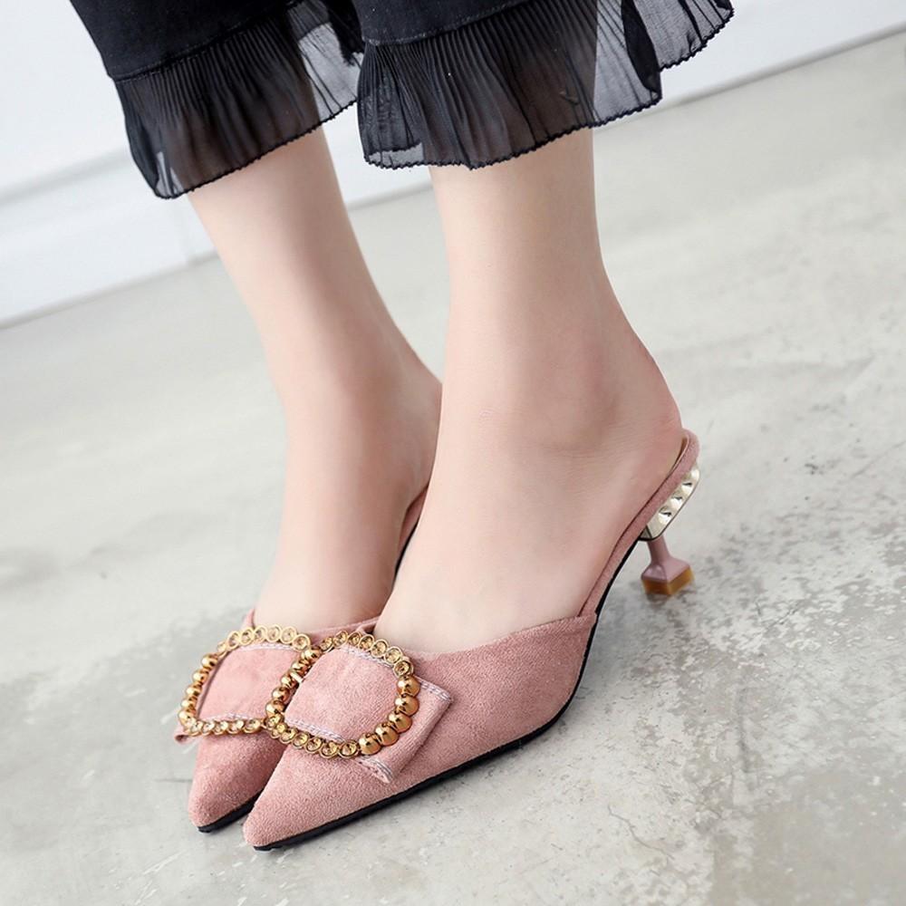 Shoes Youyedian Cheap Slip On High Heels Womens Heels And Pumps Sexy High Heels For Women Sexy Prom Wedding #w40