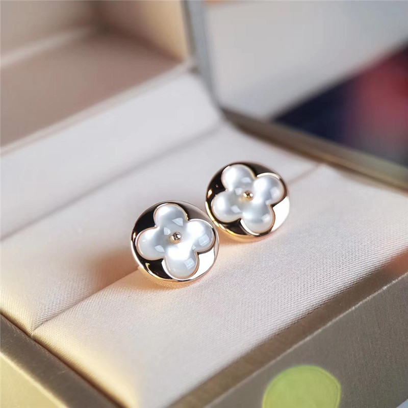 Frauen Silber-Ohrringe reizende Blumen-Ohr-Bolzen-Ohrringe Modeschmuck Sa