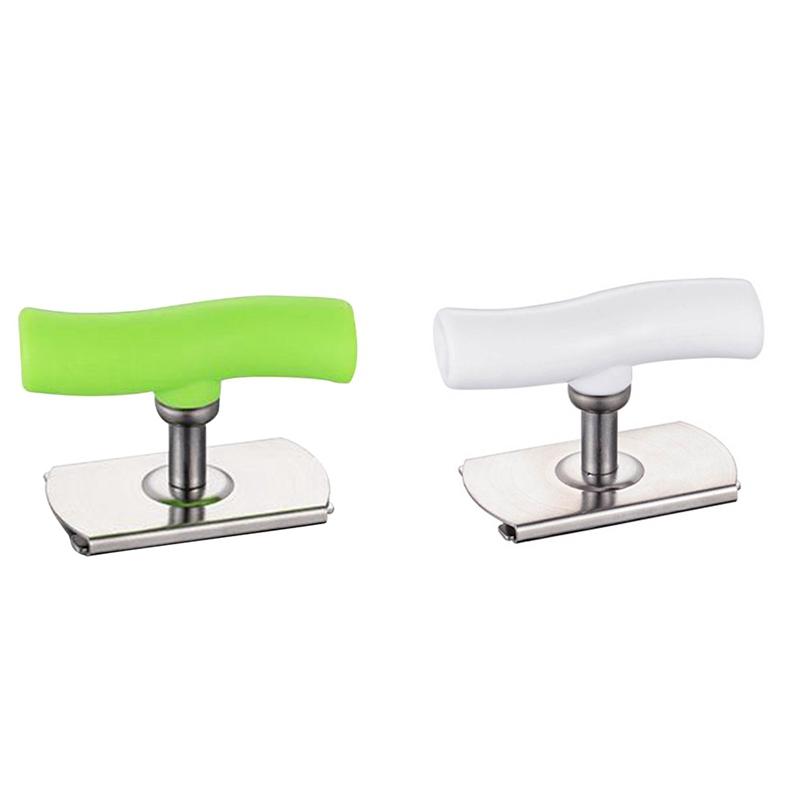 ideale per bambini anziani 1 Pack Jar Opener design a spirale regolabile con coperchi in acciaio inox Apribarattoli per artrite
