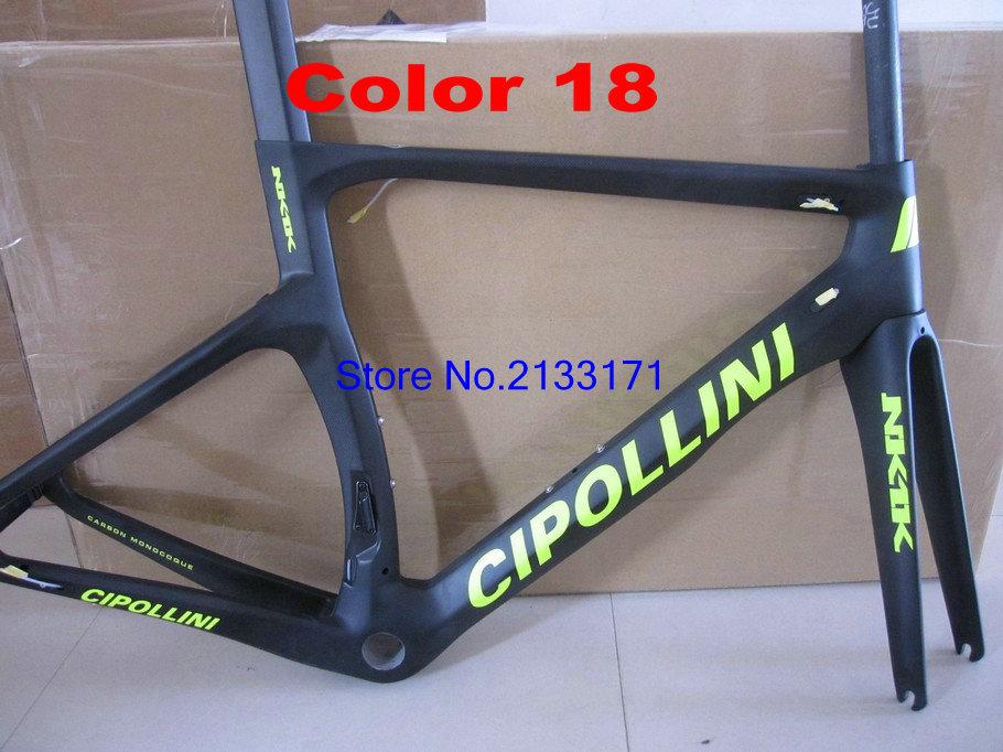 18 Cipollini NK1K 3K Di2 Carbon Bike Frame