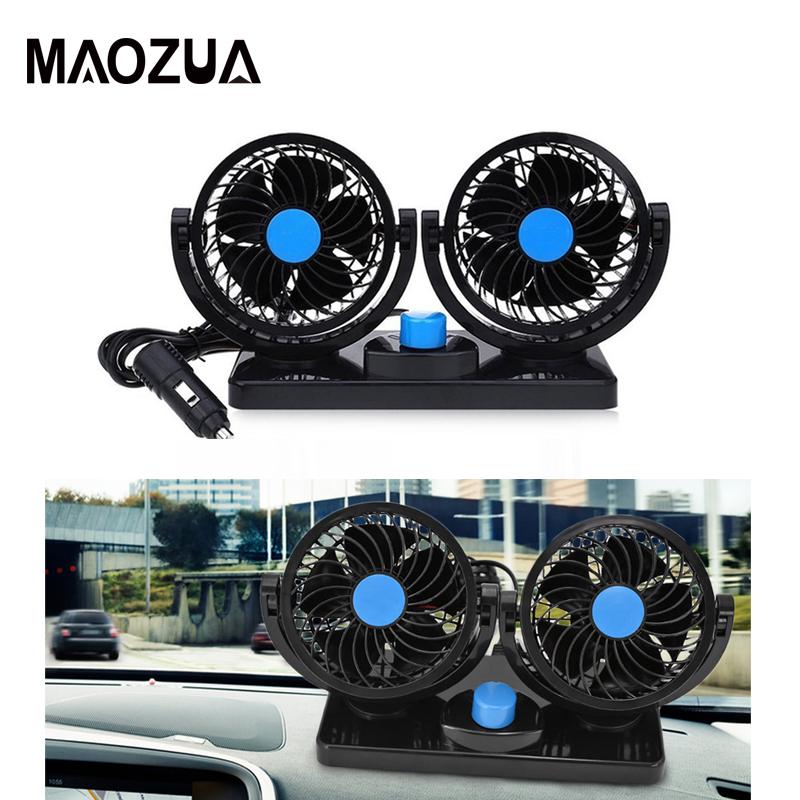 360 ° Elektrisch Leistungsstarke USB Elektroauto Lüfter Kühlung Cooler 12V// 24V