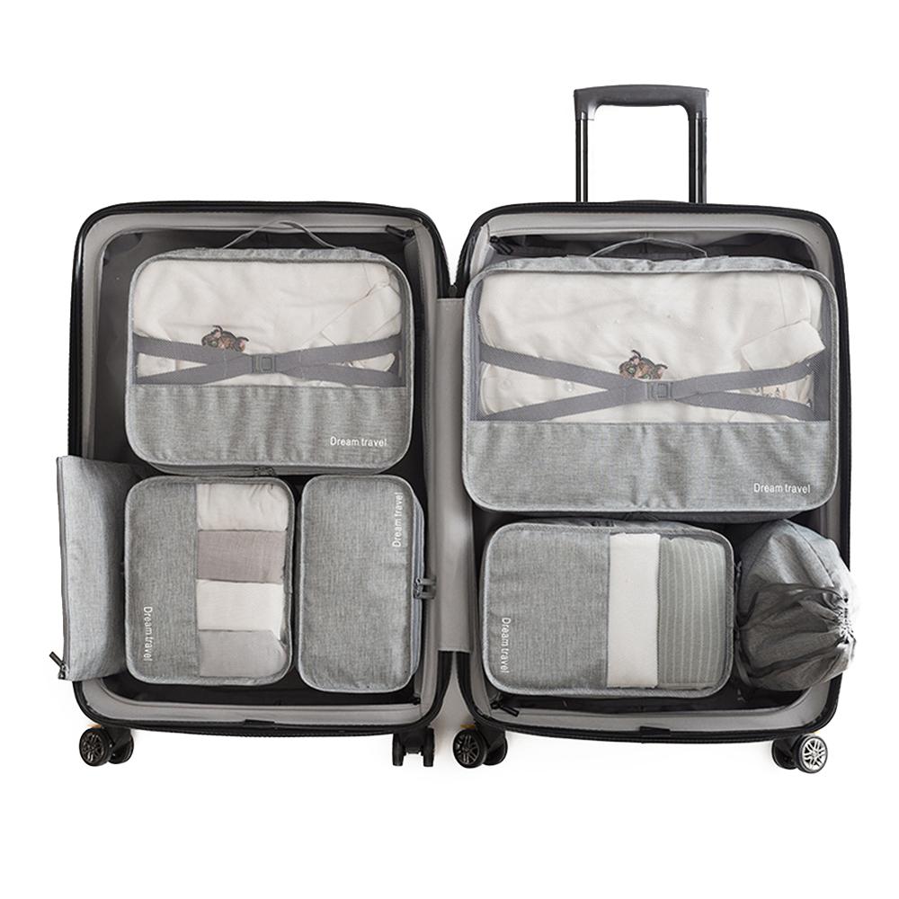 Cute Pandas 3 Set Packing Cubes,2 Various Sizes Travel Luggage Packing Organizers g5
