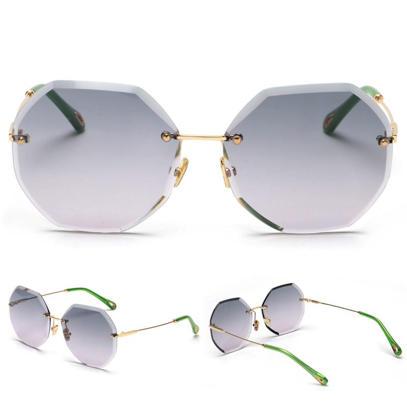 Octagon Sunglasses Women Fashion detaail (9)