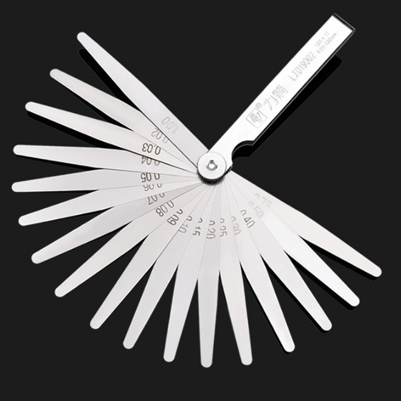 26 Blade Feeler Gauge Set Imperial//Metric Measure Hand Tool 0.038mm-0.635mm