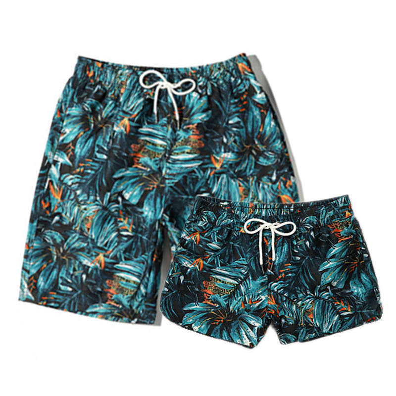 Leisue Purple Rose Flower Quick Dry Elastic Lace Boardshorts Beach Shorts Pants Swim Trunks Mens Swimsuit with Pockets