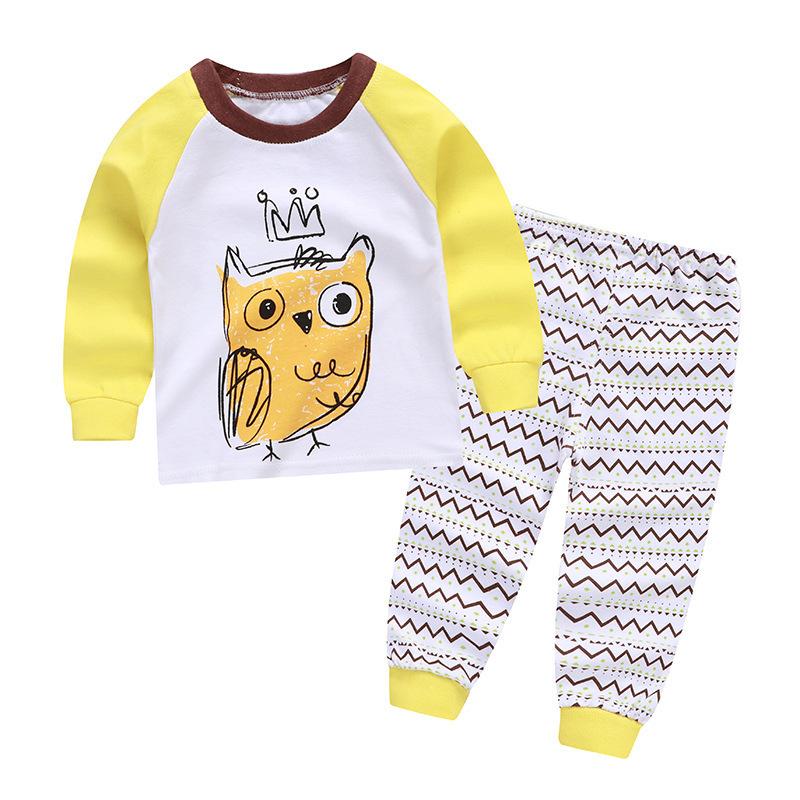 Bebek İç Giyim Seti, Pamuk Uzun Kollu Yenidoğan Giyim Erkek Giyim Seti Bebek Ürünleri Y190515